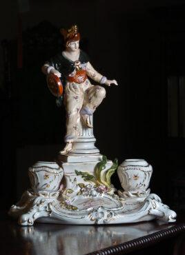 Portselanist lauagarnituur (barokk)-0
