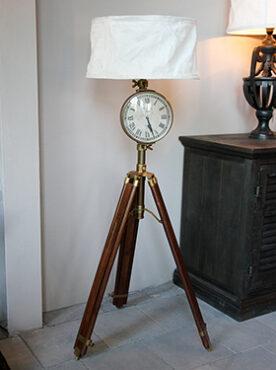 Põrandavalgusti Chehoma kellaga-0
