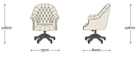 "Kontoritool ""Director's chair""-3523"
