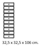 Pöörlev sahtlitest kapp -3681