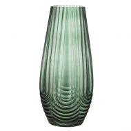 Roheline klaasist vaas -0