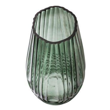 Roheline klaasist vaas -4211