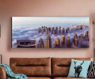 """Pilt klaasil """"Rascacielos""""-0"""
