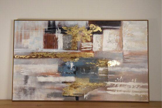 Abstraktne maal raamiga-0