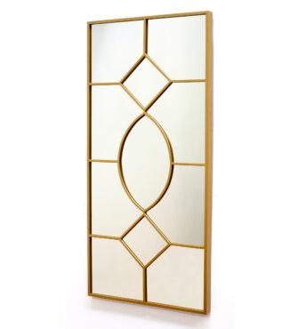 Kuldsete detailidega peegel -0