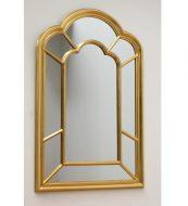 Kuldse raamiga peegel -0