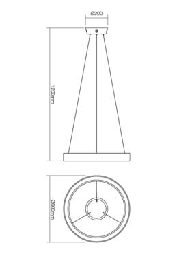 """Laevalgusti """"Loop""""-5198"""