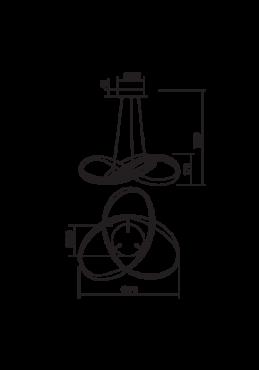 """Laevalgusti """"Nucleo""""-5220"""