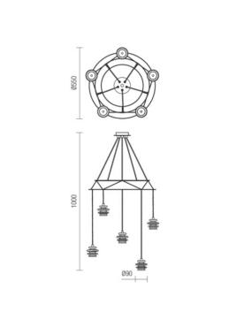 "Laevalgusti ""Wire""-5239"
