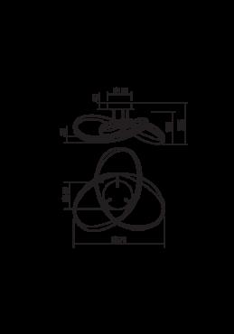 """Laevalgusti """"Nucleo""""-5334"""