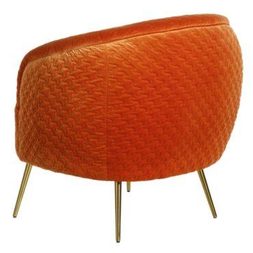 Apelsinivärvi tugitool -6407