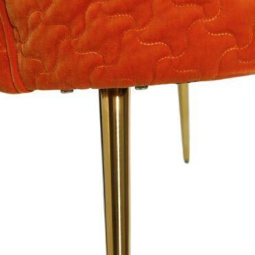 Apelsinivärvi tugitool -6410