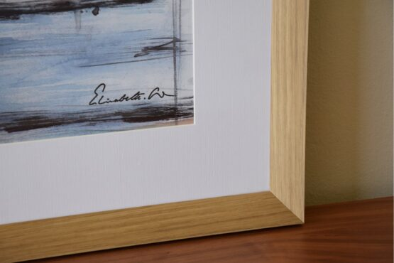 abstract-painting-on-paper-with-frame (2)
