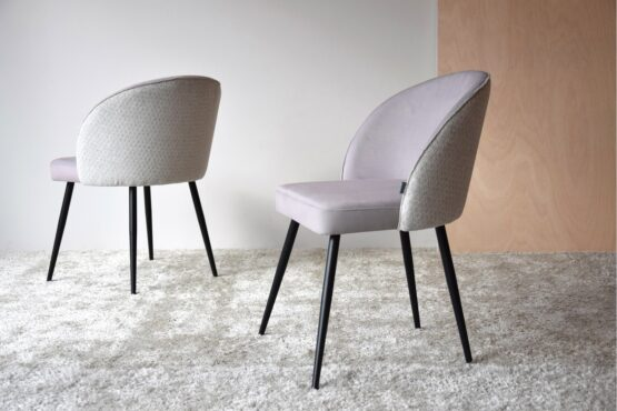 set-2-dining-chairs-grey-color-metal-legs