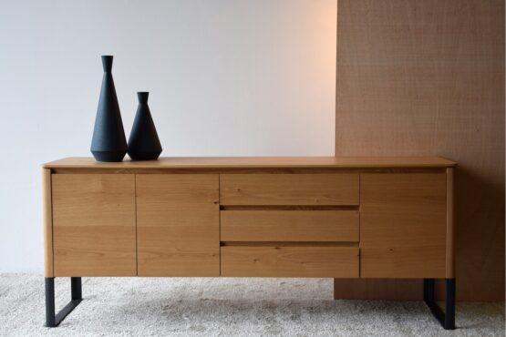 sideboard-matt-natural-oak-and-black-steel-base