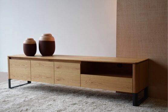 tv-cabinet-matt-natural-oak-and-black-steel-base (1)